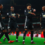 Arsenal (1-3) Manchester United